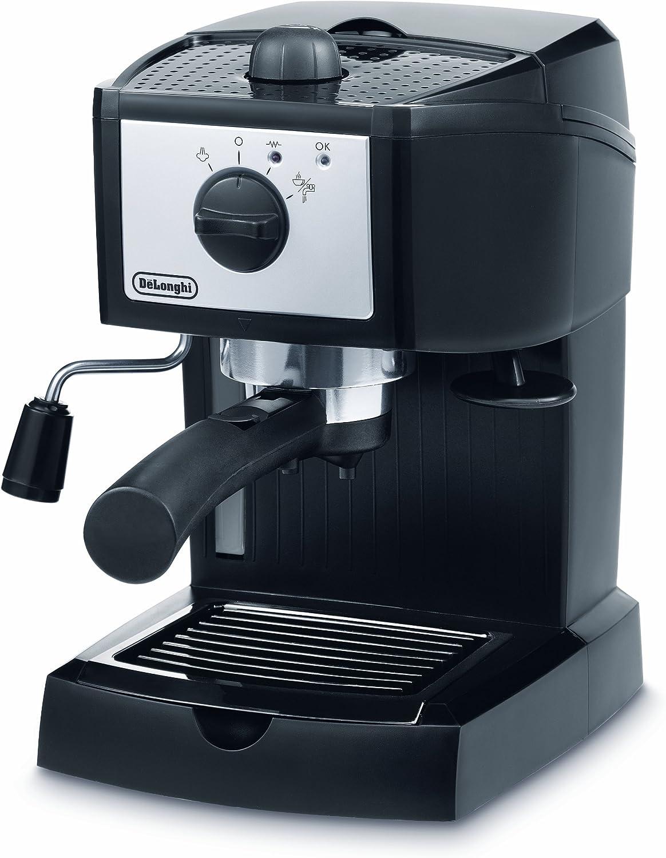 DeLonghi EC152.CD - Cafetera espresso, 1100 W, 1 litro de ...