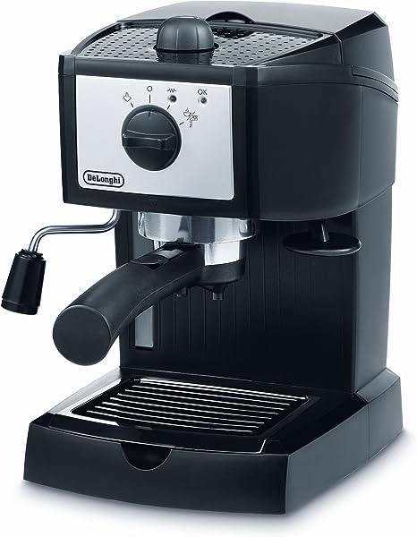 DeLonghi EC152.CD - Cafetera espresso, 1100 W, 1 litro de capacidad, 15 bares: Amazon.es: Hogar