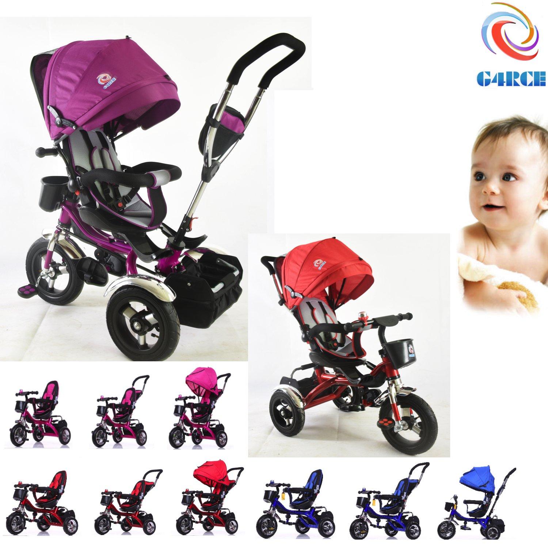 Little Bambino RideOn Pedal Tricycle Children Kids Smart Design 3 Wheeler pink