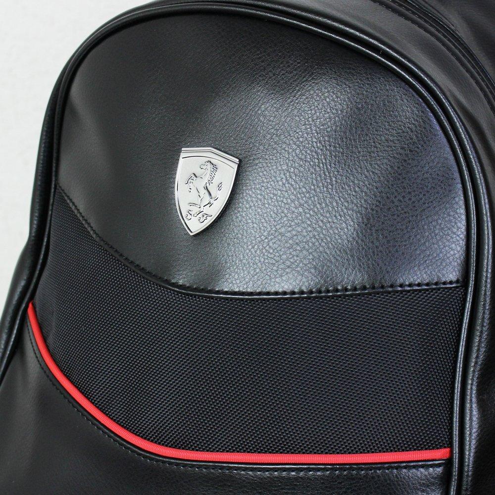 Puma Ferrari Sort Skinn Ryggsekk jEt3w