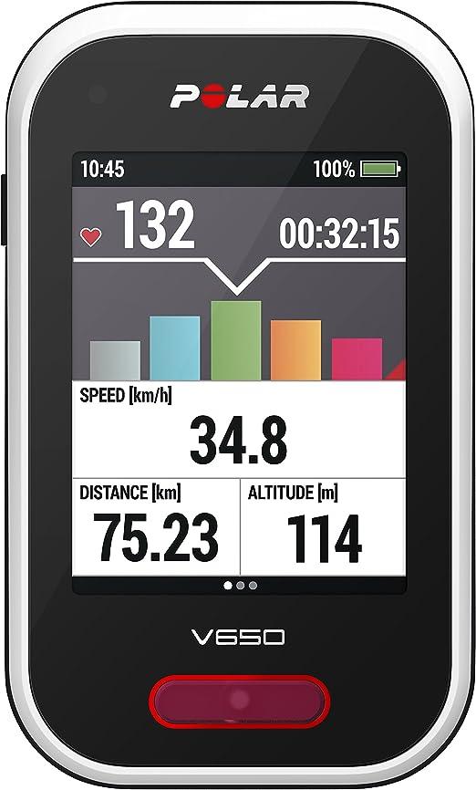 Polar V650 - Ciclocomputador de ciclismo con GPS: Amazon.es ...
