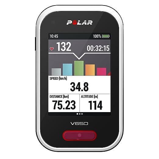 166 opinioni per Polar V650 Bike Computer con GPS Integrato, senza Fascia Cardio, Bianco