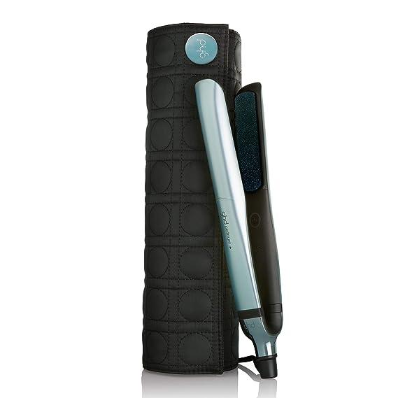 ghd platinum+ glacial blue - Plancha de pelo profesional con tecnología ultra-zone: sus sensores infinitos se adaptan para garantizar una temperatura ...