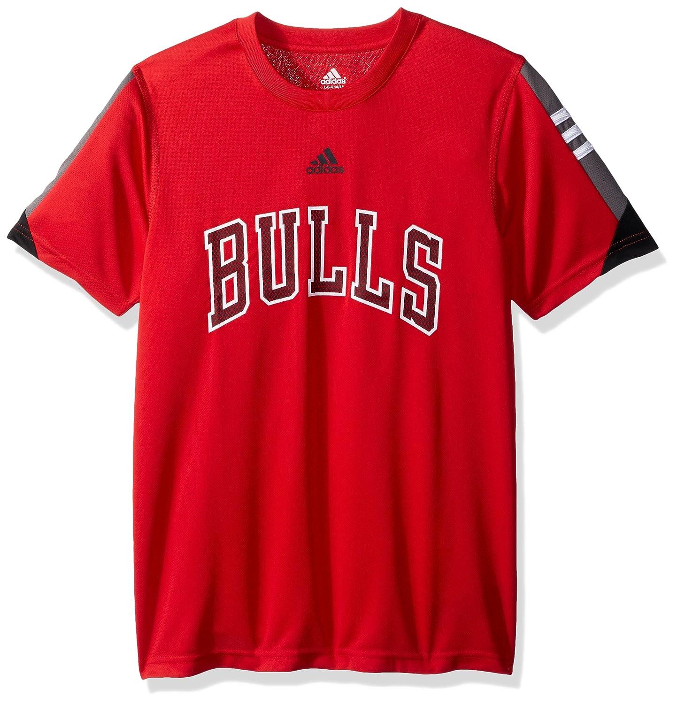 NBA ティーン ボーイズ NBA ユースサイズ8-20 クリーブランドキャバリアーズ ポゼッション半袖パフォーマンスTシャツ Youth Large(14-16) レッド   B01LTERUNK