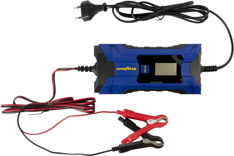 4.0A Goodyear Cargador de bater/ía port/átil con indicador LED