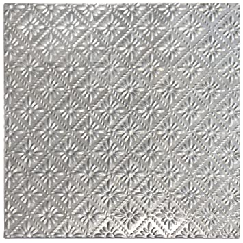 Cute 12 Inch Ceramic Tile Big 12X12 Ceiling Tiles Lowes Solid 12X12 Ceramic Tile 2 X 12 Ceramic Tile Young 20X20 Ceramic Tile Bright20X20 Floor Tile Amazon.com: Salvaged, By BCI Crafts Tin Ceiling Tile, Turquoise ..