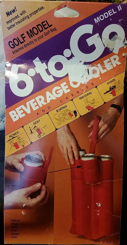 ゴルフモデル6-to-go飲料クーラー、バッグに取り付け   B06XK13Q3X