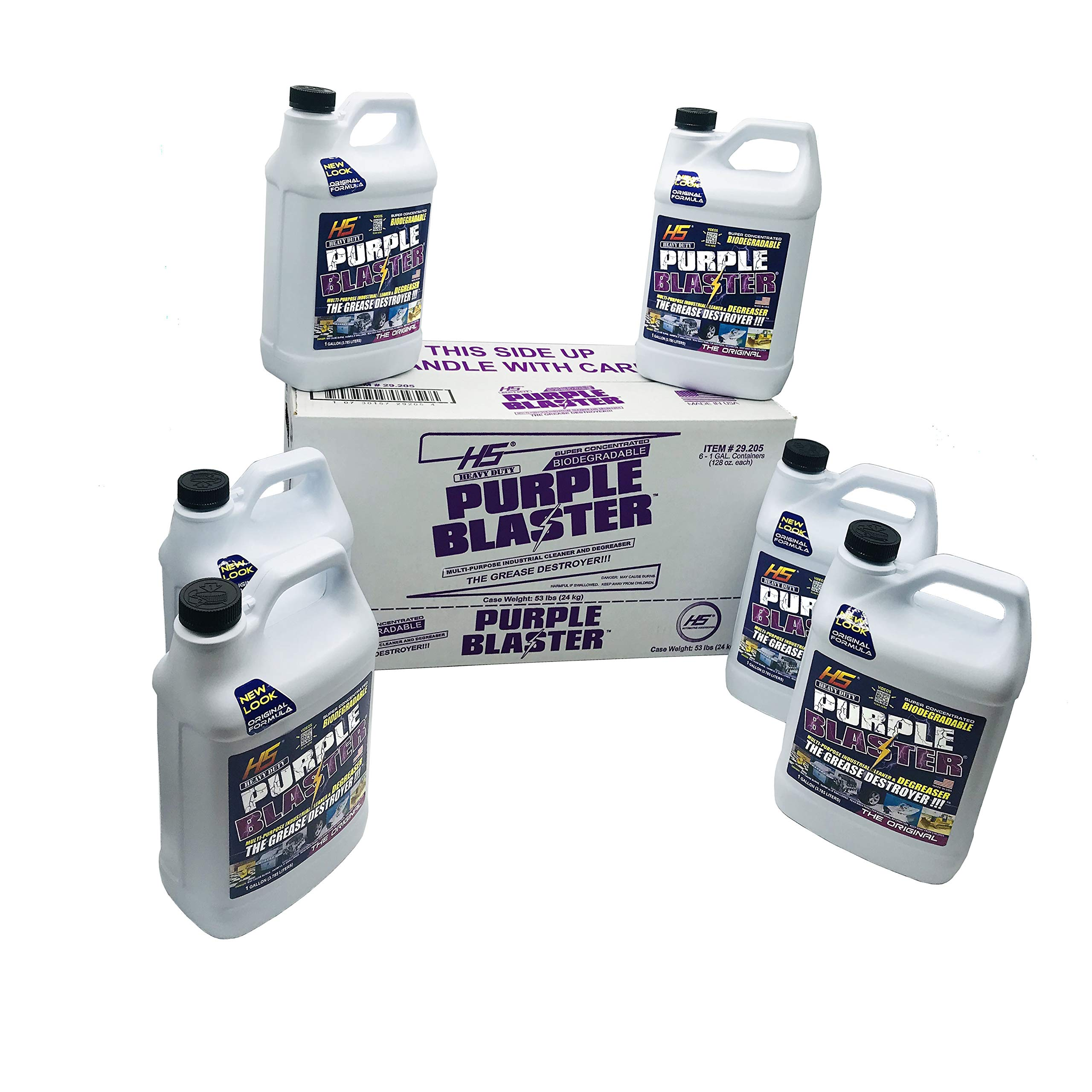 Purple Blaster degreaser (Case of 6, 1 Gallon) by HS