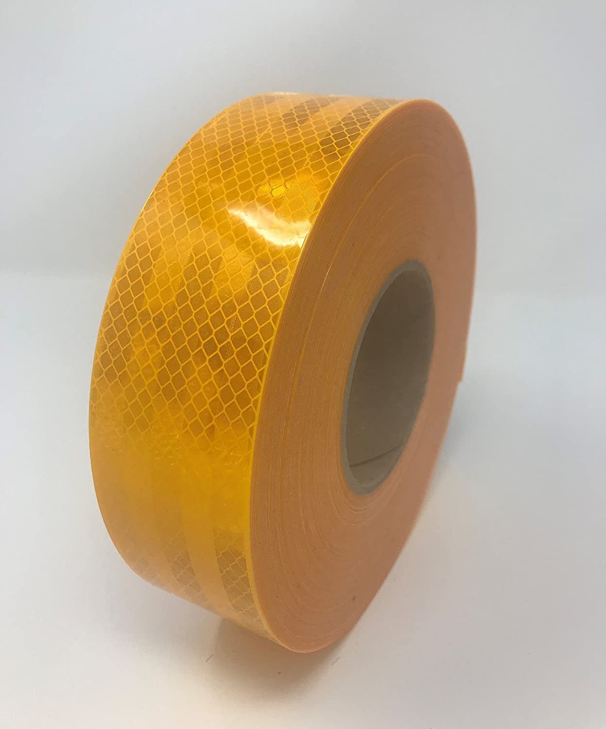 Safe Way Traction 2 x 12 Roll 3M Diamond Grade Conspicuity School Bus Yellow Auto Truck Trailer Reflective Safety Tape 983-71