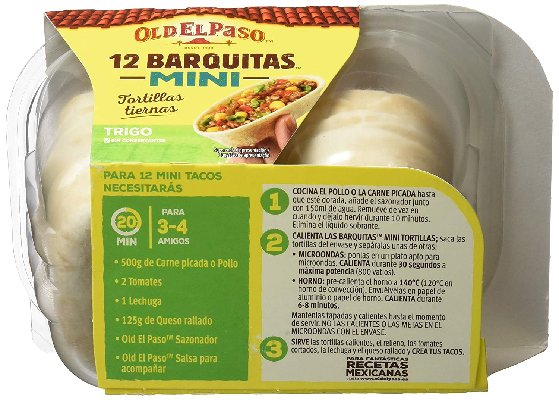 Old El Paso - Mini Barquitas - 145 gr: Amazon.es: Amazon Pantry