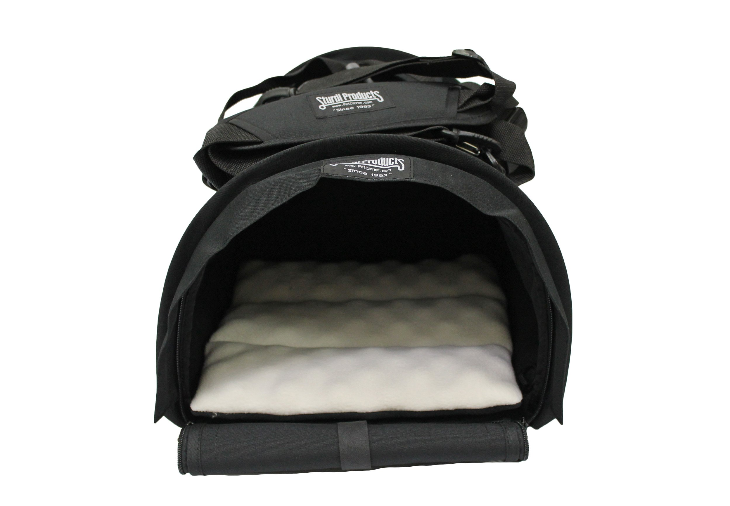 Sturdi Products Bag Cube Pet Carrier, Large, Black
