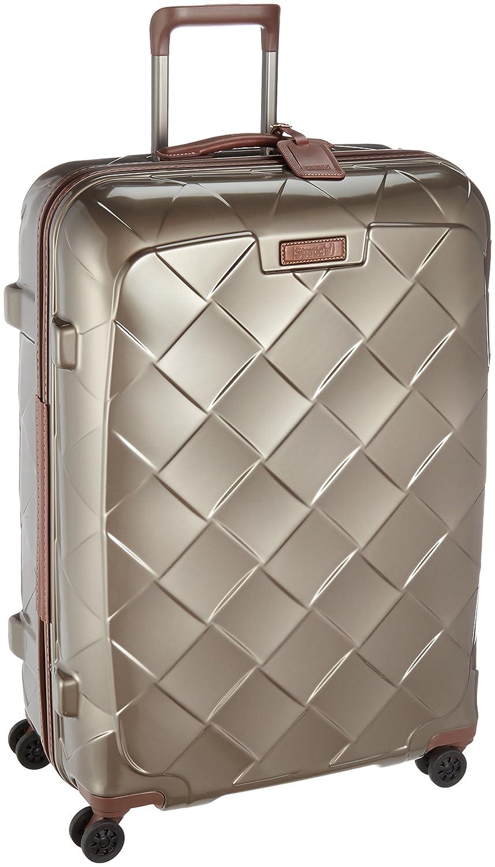 [ストラティック] STRATIC スーツケースレザー&モア 日本限定版 大型 グッドデザイン賞2016受賞 本革 容量100L 縦サイズ75cm 重量4.36kg 3-9902-75 B01M1KVIQS シャンパン シャンパン