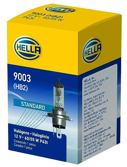 HELLA 9003 Standard Halogen Bulb, 12 V, 60/55W