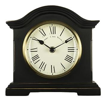 acctim falkenburg mantel clock black - Mantel Clock