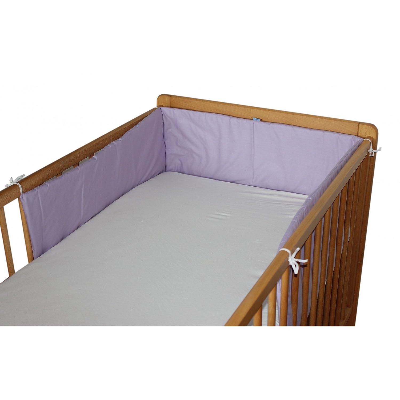 Babybett nestchen bettumrandung nest kopfschutz 420 cm, 360 cm ...