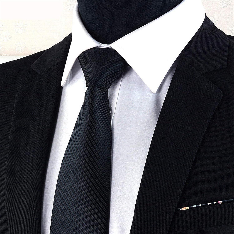 XIARUI Corbata de Hombre 8 cm Hombres Rayas de Moda sólido ...