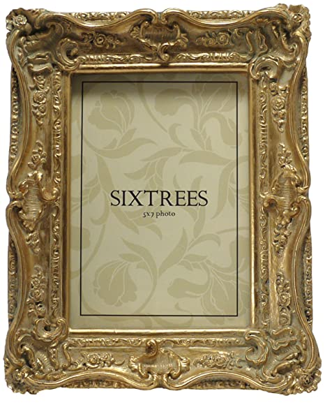 Shabby Chic Style Very Ornate Gold Photo Frame For 7x5 175x127mm