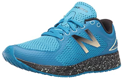 New Balance Boys' KJZANV2 Running Shoes, BlueBlack, 10.5 M US Little