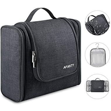 Hanging Toiletry Bag for Women - Men Travel Essentials Waterproof Large Toiletry Bag for Bathroom Full Size Bottles Travel Toiletry Bag Large Capacity Organizer Bag for Accessories, Toiletries