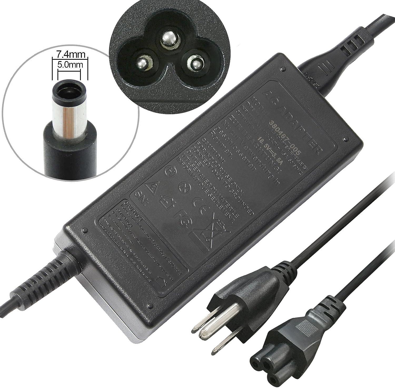 18.5V 3.5A 65W Power Supply AC Adapter Charger for HP Pavilion G6 G7 G4 DV4 DV5 DV6 DV7 DM4 DM4-1173CM4 M6 G60 G61 G70 G71 G72; Hp Presario Cq43 Cq57 Cq58 Cq60 Cq61 Cq62, HP 2000