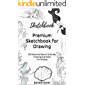 Premium Sketchbook for Drawing: (50 Mermaid Stencil Outlines) Drawing Exercises For (Artists) (Sketchbook Collection)