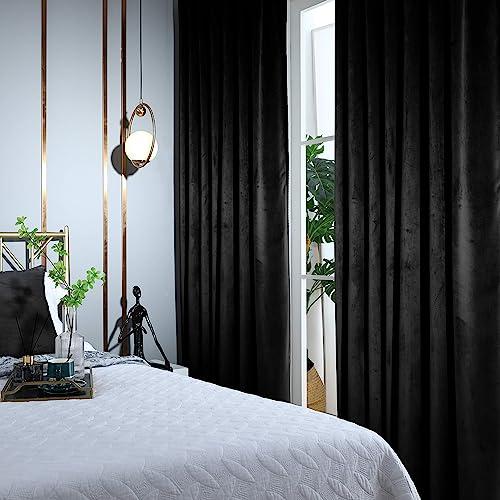 WOWOTEX Velvet Curtains