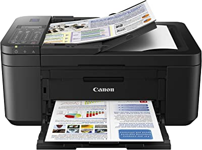 Canon E4270 All-in-One Ink Efficient WiFi Printer with FAX/ADF/Duplex Printing
