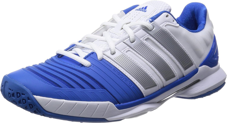 adidas Men's Adipower Stabil 11 Handball Shoes, White - Weiß (FTWR ...