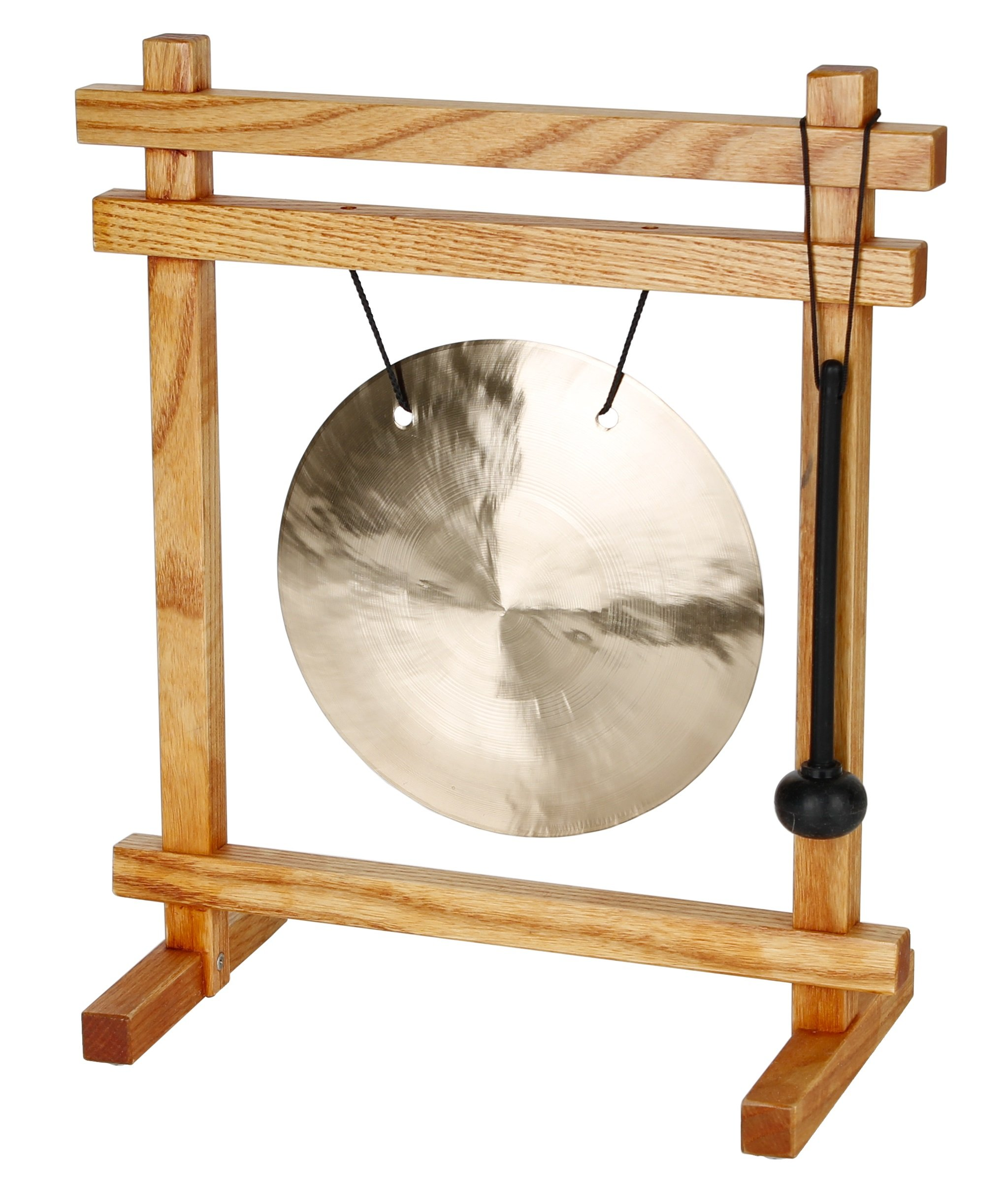 Woodstock Table Top Gong, Cherry Finish by Woodstock Chimes