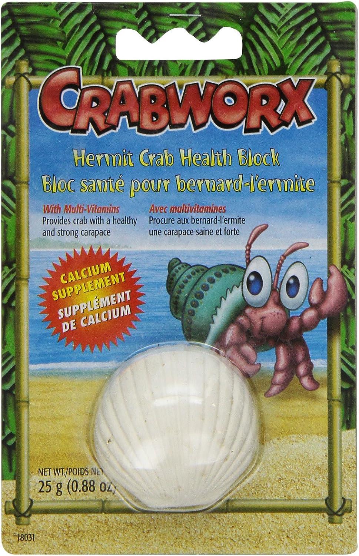 Crabworx Hermit Crab Health Block