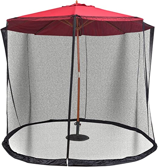 Paraguas Protector De Cubierta Mosquito Bug Insectos neto malla de ...