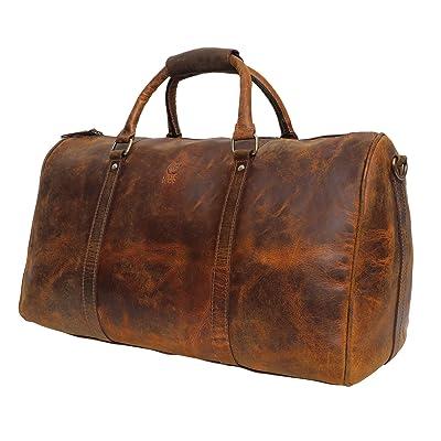 Handmade Leather Duffel Bags