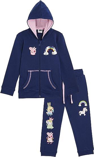 Peppa Pig Vêtement Fille et Bébé, Ensemble Legging Chaud