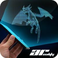 AR Hologram Flying Dragon