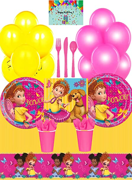 Fancy Nancy Balloons 2nd Birthday Party Decorations Supplies Clancy Balloons Home Garden