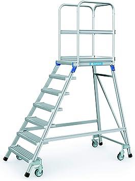 Zarges escalera, por un lado 7 niveles Z600: Amazon.es: Bricolaje y herramientas