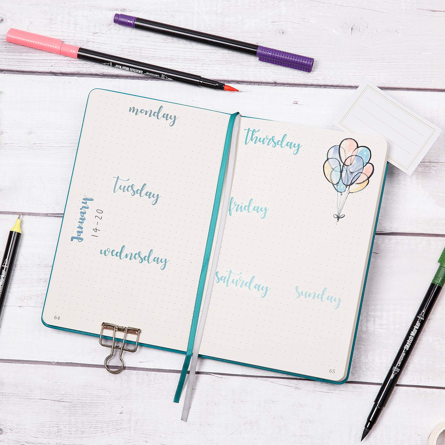 Bullet Grid Journal ONLY $5.36...