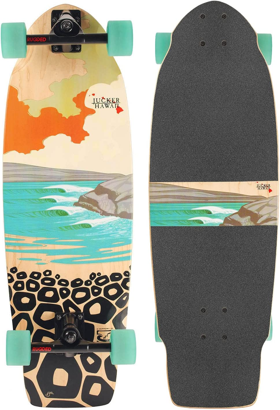 Skatesurfer ® Carving Skateboards de JUCKER HAWAII