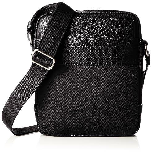 474c07cfa4 Calvin Klein Jeans K50K502115, Borsa a Tracolla Uomo, Nero (Nero (Black 001