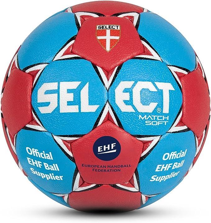 SELECT Handball Match Soft Balón de Balonmano, Unisex Adulto