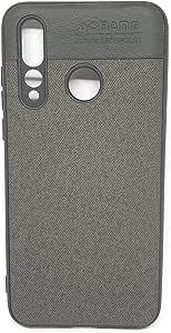Huawei Nova 4 Texture Cloth Back Cover - Black