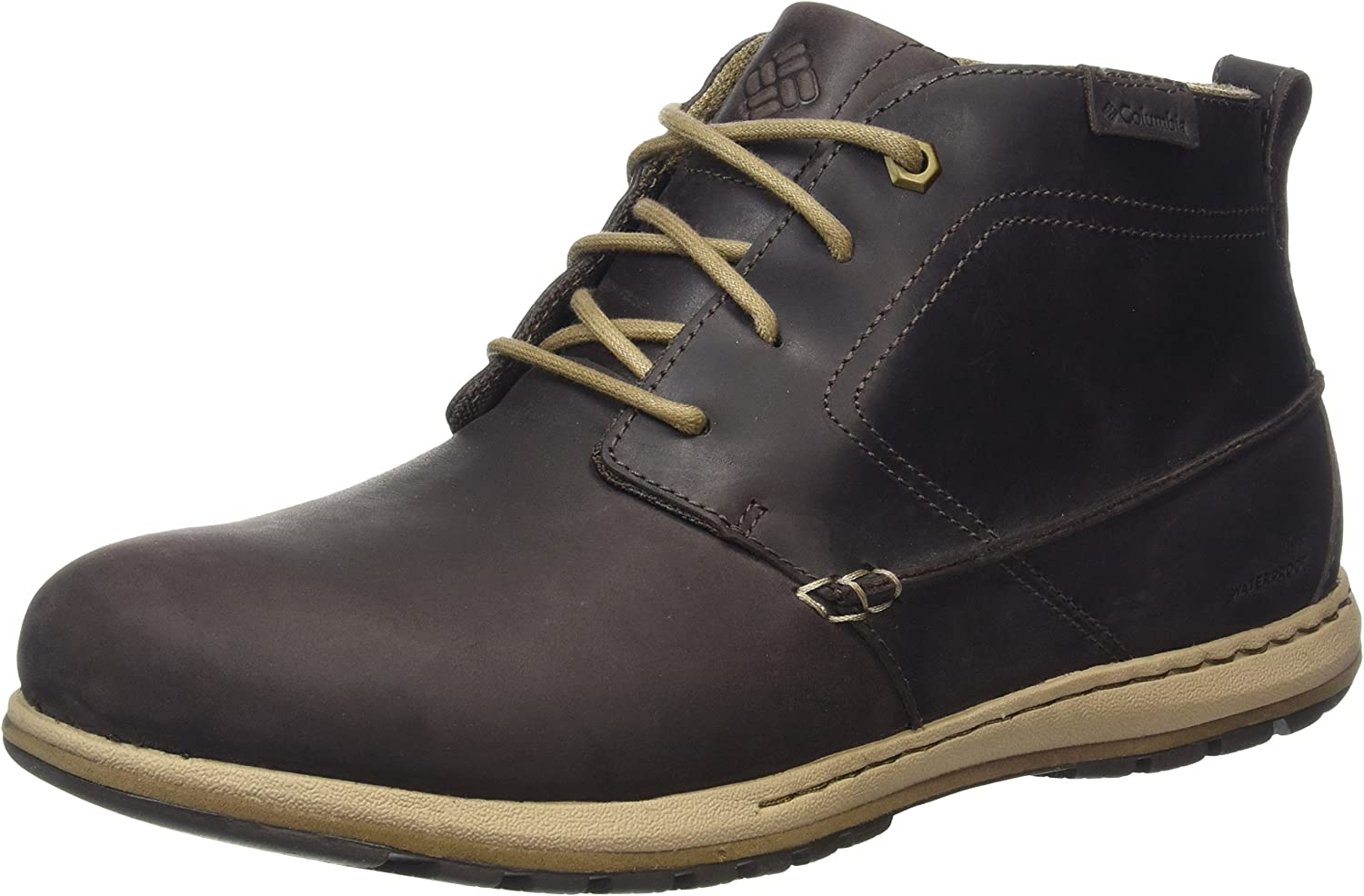 TALLA 48 EU. Columbia Davenport Chukka Waterproof Leather, Oxford para Hombre