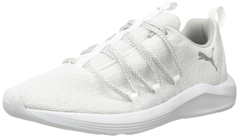 PUMA Women's Prowl Alt Knit Mesh Wn Sneaker B075699C7W 9.5 B(M) US|Puma White-metallic Beige