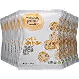 Wickedly Prime Organic Popcorn Chips, Sweet & Salty Kettle, 1 Ounce Snack Pack (Pack of 24)