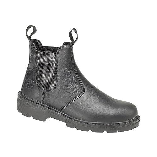 Amblers - Calzado de protección para mujer negro negro, color negro, talla 42
