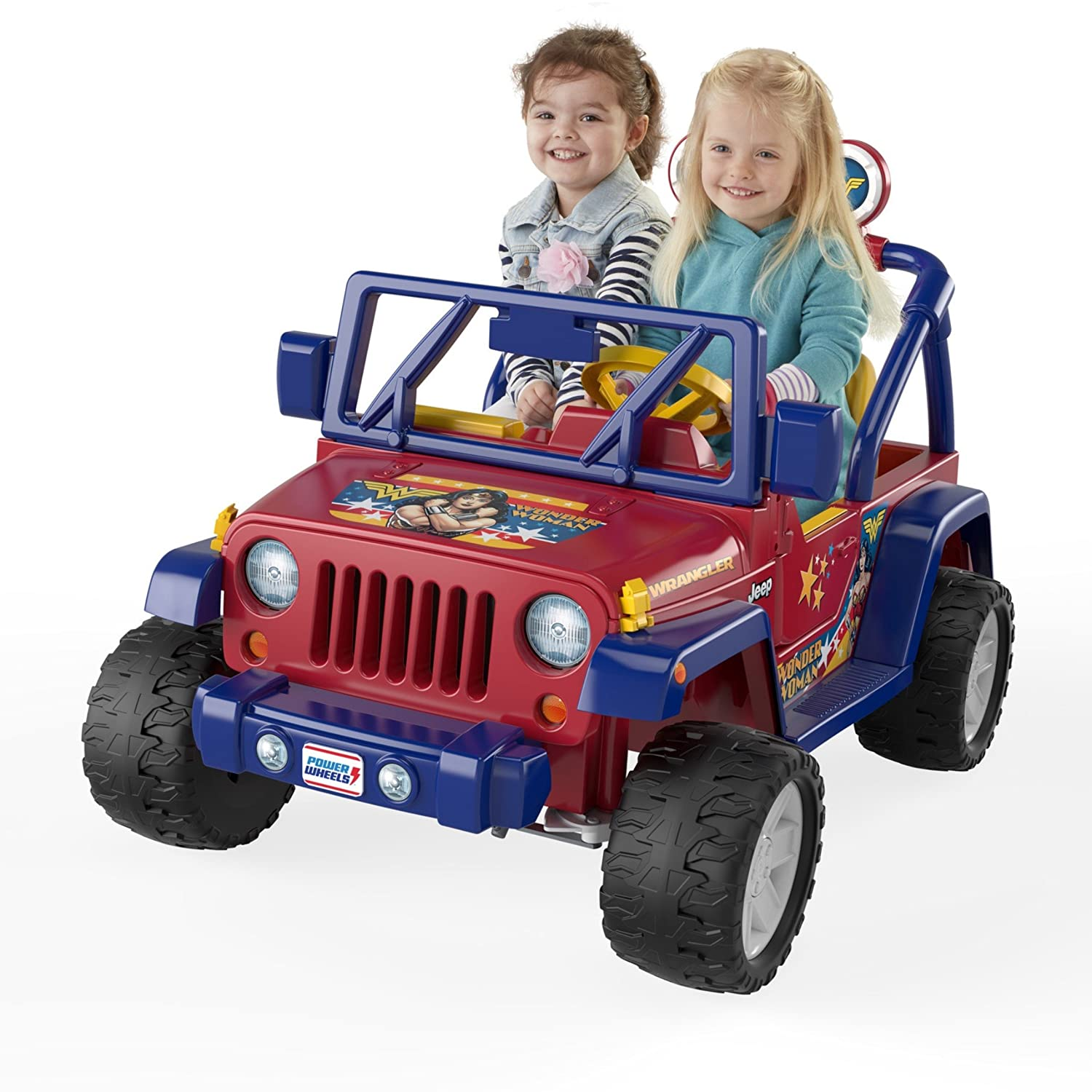 $183.80(was $399.99) Fisher-Price Power Wheels Wonder Woman Jeep Wrangler