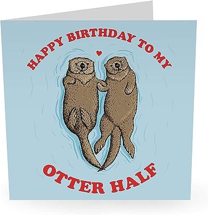 blague humour humour humour s/œur vieux cartes Central 23 Carte danniversaire humoristique /« Happy Birthday to you /» CutenQuirky Him Her Mum Dad /épouse fr/ère