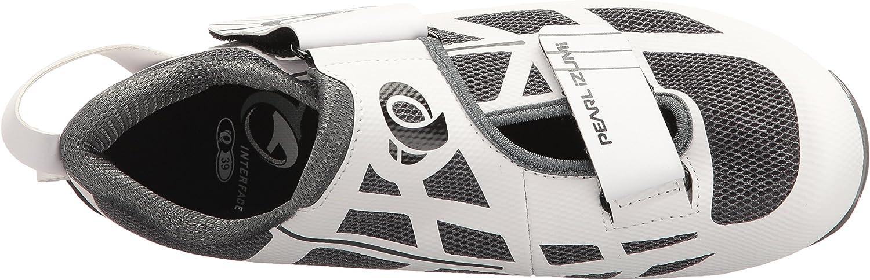 Pearl iZUMi Womens W TRI Fly Select V6 Cycling Shoe 36 EU//5.2 B US White//Shadow Grey