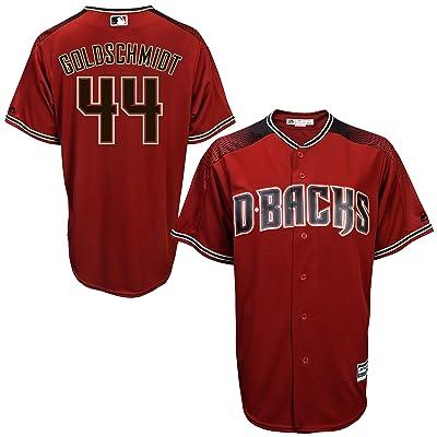 OuterStuff Paul Goldschmidt Arizona Diamondbacks Red Kids Cool Base Alternate Jersey