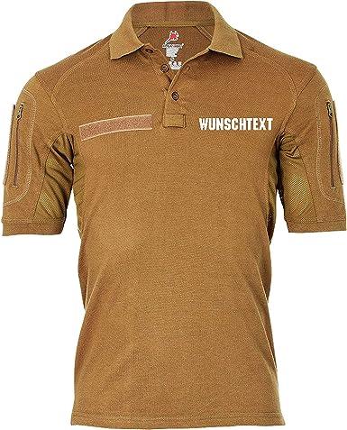 Copytec Polo táctico Texto Deseado Verde Oliva Unidad Especial Polo Camisa Alfashirt # 32058: Amazon.es: Ropa y accesorios